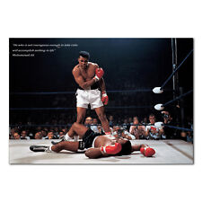 A4 A3 A2 A1 A0 SIZES MUHAMMAD ALI BB1 UNDERWATER BOXING GYM POSTER ART PRINT