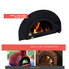 Cast Iron Glass Pizza Oven Door Small - Diy Wood fired Pizza Ovens