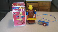 Vintage 70's Bandai Japan Battery Op Gorilla With Tray A Montgomery Wards MIB