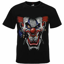Assorted Space Inspired / Clowns Horror Based 3d Graphic Printed Tshirt Tee Top XL 25 - Gangster Clown