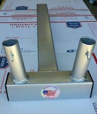 New listing Hummer, or Jeep Cj ,Wide Dual,Trailer Hitch Mount flag holder ,for spare tire