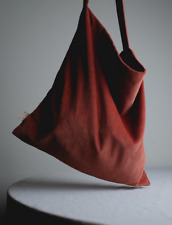 Cotton Corduroy Handmade Slouchy Tote Hand Bag