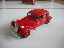 Verem Citroen 15 SIx Sapeurs Pompiers in Red on 1:43