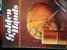 Golden Hands magazine Vintage Crafts double issue parts 1&2 Crochet, knitting