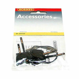 HORNBY R8201 2X POWER CONNECTING CLIPS LINK WIRE KIT OO 00 GAUGE 1:76 SCALE