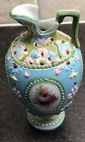 Vintage Moriage Ware Miniature Vase Jug Pitcher Japanese?