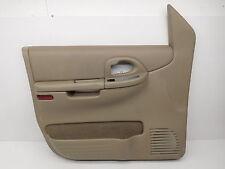 OEM Oldsmobile Silhouette Front Left Door Trim Panel 21999591 Stress Marks
