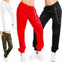 Pantaloni donna baggy casual catena tasche primavera cargo TOOCOOL AS-2672