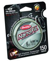 Berkley Nanofil Uni-Filament Line 6 lb 150 yd Clear Mist NF1506-CM