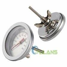 Gauge 50-500℃ Stainless Steel BBQ Barbecue Grill Thermometer for Outdoor Camping
