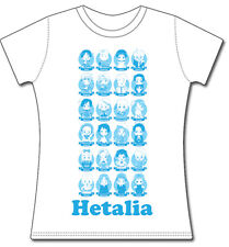 *NEW* Hetalia: Group Juniors Small (S) T-Shirt by GE Animation