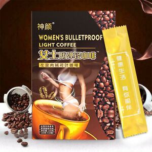 10 Pcs L-Carnitine Instant Coffee For Weight Loss Slimming Coffee (1 Box)