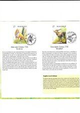 2748/51 Fauna Zoogdieren Ardennen Eerste Dag Postfolder 1998 VF