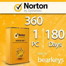 Norton 360 - 2017 - [1 PC] [180 Tage] - VOLLVERSION - Licenz