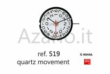 Movimento al quarzo Ronda 519 movement quartz for watch orologi Swiss