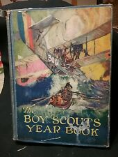 1920 HTF Boy Scouts Yearbook HB Great illustrations BSA Year Book Original vtg 1