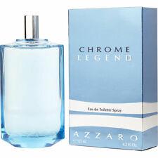 Chrome Legend Azzaro pour homme Eau de Toilette 125ml LOT DE 3  +1 Échantillon