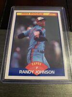 1989 Score Baseball #645 RANDY JOHNSON RC Expos Mariners Yankees HOF Rookie Card