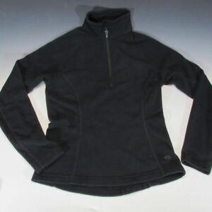 Mountain Hardwear Women's Microchill Zip T Fleece Jacket (XS, Black)