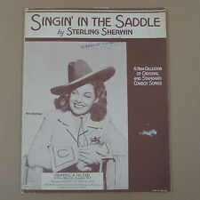 Comme dans la selle sterling Sherwin cowboy chansons-Ann Sheridan, 1944