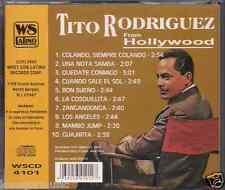 Mega RARE cd SALSA Tito Rodriguez FROM HOLLYWOOD cuando sale el sol GUAJIRITA