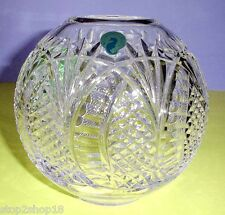 """Waterford Crystal Seahorse Rose Bowl 6"""" #127995 New in Box"""