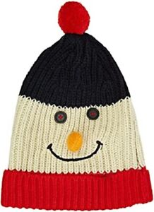 Christmas Snowman Novelty Hat One Size
