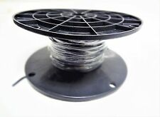 MTW 6 AWG GAUGE BLACK STRANDED COPPER SGT PRIMARY WIRE 250' FT