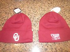 Oklahoma Sooners ski cap hat-NWT-ONE SIZE