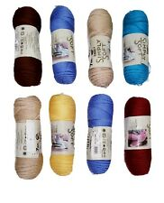 New listing Lot Of 8 Packs Skeins Of Assorted Color Yarn By Caron Simply Soft New