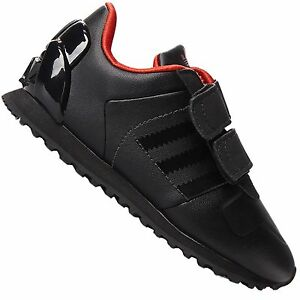 Adidas Originals Zx 700 Children Star Wars Darth Vader Trainers Shoes Black Red