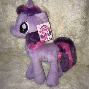 Large My Little Pony Purple Plush Famosa Softies Twilight Sparkle 2016 BNWT