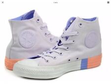 Unisex Converse Chuck Taylor All Star Hi Light Purple Casual Trainers - 8.5  UK