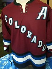 Koho Authentic Peter Forsberg jersey Medium Colorado Avalanche Avs