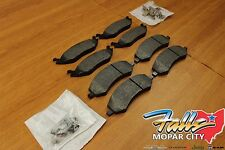2011-2020 Jeep Grand Cherokee Front & Rear Brake Pad Set Mopar OEM