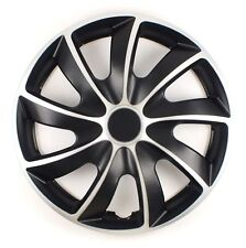"""SET OF 4 15"""" WHEEL TRIMS COVER,RIMS,CAPS TO FIT TOYOTA IQ, YARIS + FREE GIFT #O"""