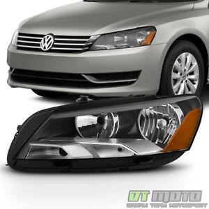 NEW 2012-2015 Volkswagen Passat Halogen Headlight Headlamp LH Driver Side 2013