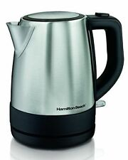 Hamilton Beach (40998) Electric Kettle, For Tea & Coffee, 1.0 Liter, Stainless S