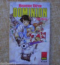 Dominion: Tank Police, Número 1, Norma Editorial, Masamune Shirow, año 1994