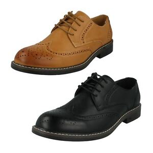 Mens Malvern Lace Up brogue Style Shoes A2R143