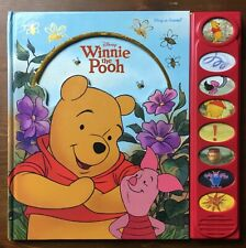 Disney Winnie the Pooh Play-a-Sound Picture Book Tested & Working