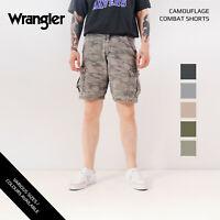 VINTAGE WRANGLER CAMOUFLAGE CARGO COMBAT SHORTS 28,30,31,32,33,34,36,38,40,42