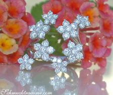 Ausgefallen: Exquisiter Brillanten Ring im Blüten Design, 2,49 ct. WG 750 8.400€