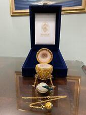 Authentic Faberge Rosebud Egg
