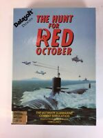 Commodore 64 128 Hunt for Red October Video Game Poster Floppy C64 C128 5.25""