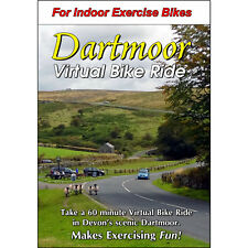 Dartmoor, Devon - England Cycling Scenery Dvd - Virtual Bike Ride - Exercise