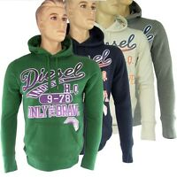 Diesel Hoodie Pullover Sweatshirt Kappuzenpullover Sirenys-RS NEU