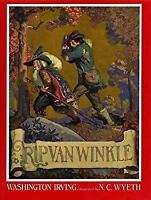 Rip Van Winkle Hardcover Washington Irving