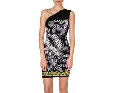 New Versace Versus One shouder Chain Embellished knit dress 44 - 8