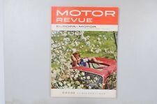 Motor Revue Europa Motor Ausgabe 42 Sommerausgabe 1962